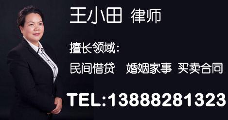 王小田律师CZY
